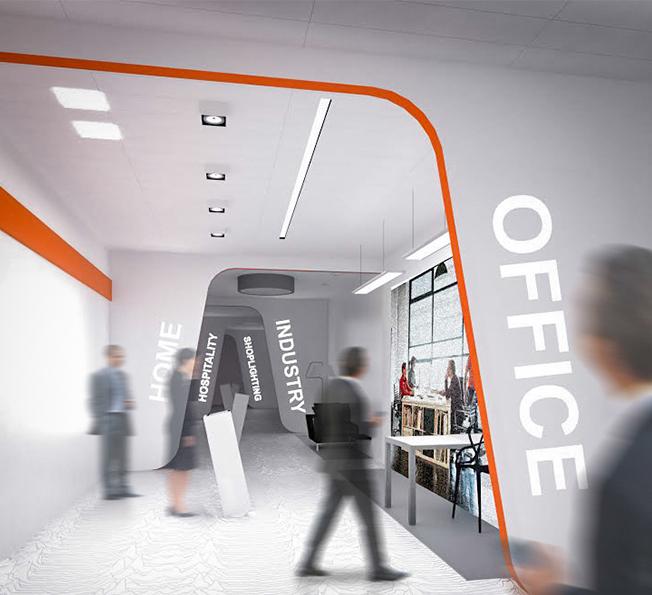 concevoir un showroom osram julie chabassier architecte int rieur strasbourg. Black Bedroom Furniture Sets. Home Design Ideas